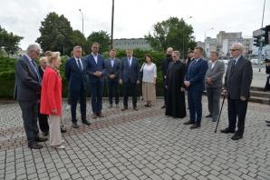 W Koninie uczczono pamięć ofiar Wołynia. Prezydent złożył kwiaty