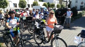 Golina. Rowerzyści przejechali przez gminę w urodzinowym rajdzie