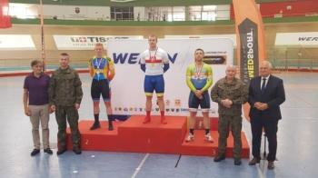 Kolejny medal dla KLTC. Sztrauch wicemistrzem Polski w sprincie
