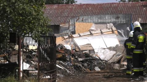 Zagaj. Przez wybuch gazu zawalił się dom. Zginęła jedna osoba