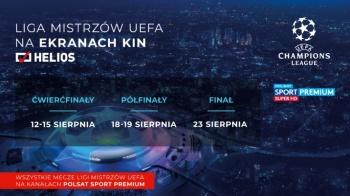 Liga Mistrzów UEFA w kinie Helios!
