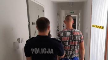 Sompolno. 20-latek rozbił auto podczas ucieczki przed policjantami
