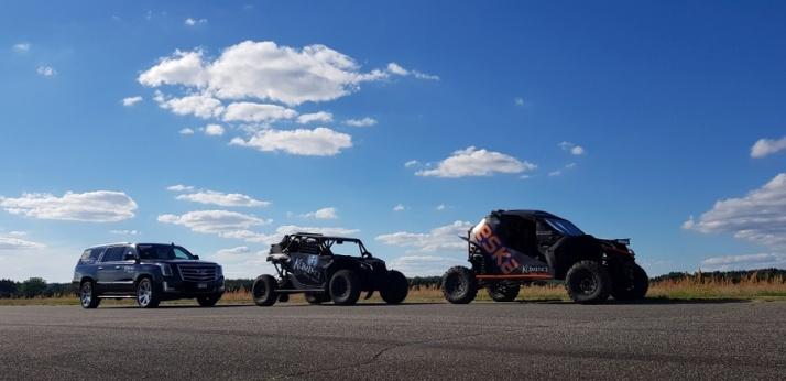 Kamena Rally Team tym razem na krótszym dystansie - ćwierć mili