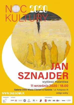 Noc Kultury: otwarcie wystawy malarstwa Jana Sznajdra