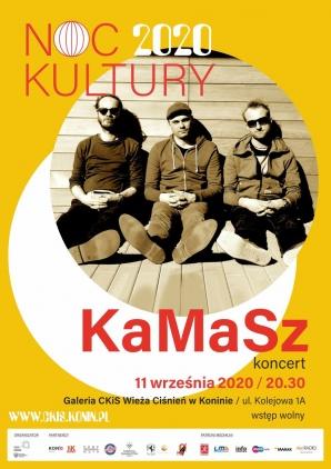 Noc Kultury: koncert zespołu KaMaSz