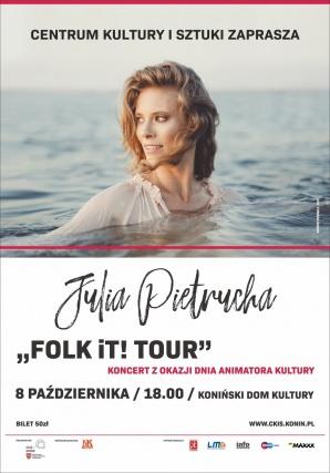 JULIA PIETRUCHA - koncert w ramach Dnia Animatora Kultury