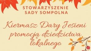 """Kiermasz """"Dary Jesieni promocją dziedzictwa lokalnego""""."""