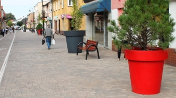 Turek. Deptak na ulicy Kaliskiej sukcesywnie zmienia wizerunek