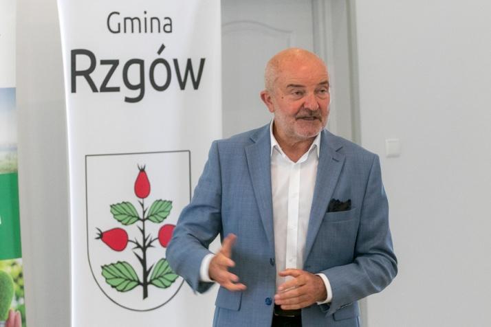 O innowacjach na wsi mówił w Rzgowie dr Andrzej Hałasiewicz