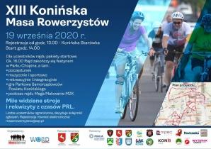 XIII Konińska Masa Rowerzystów. ajd w klimacie PRL