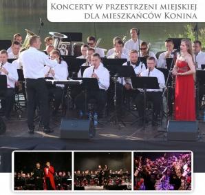 Koncerty dla mieszkańców Konina w wykonaniu orkiestry