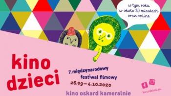 """7. Festiwal Filmowy Kino Dzieci """"Szczęściara"""""""