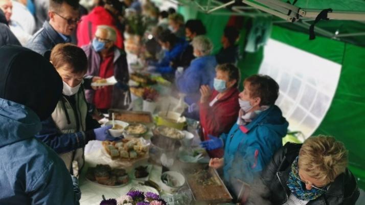 Regionalne potrawy na rynku