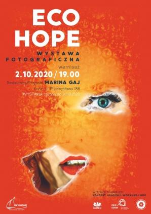 ECO HOPE - otwarcie wystawy fotograficznej