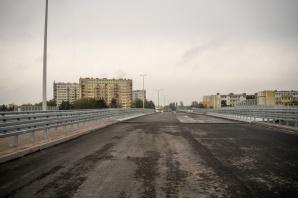 Konin. Beton na budowie łącznika ul: Wyzwolenia i Paderewskiego