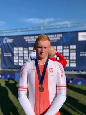 Mateusz Sztrauch z KLTC brązowym medalistą mistrzostw Europy!
