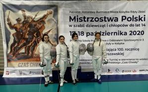 Mistrzostwa Polski Młodzików. Brąz Filipa Radocha, srebro drużyny