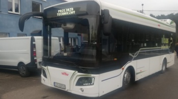 Nowy autobus elektryczny testowany w Koninie. Kursuje na linii 50