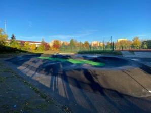 Pumptrack - nowe miejsce dla młodzieży. Powstał ze środków KBO