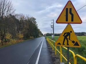 Trwa przebudowa pobocza drogi na odcinku Grodziec - Wielołęka