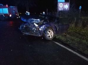 Trzy osoby zostały poszkodowane w dwóch wypadkach drogowych