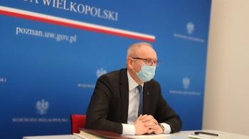 Zmniejszania liczby łóżek covidowych w wielkopolskich szpitalach