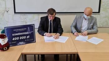 Budowa mostu w Biechowach coraz bardziej realna. Umowa podpisana