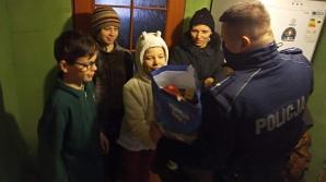Konińscy policjanci przygotowali paczki dla potrzebujących rodzin