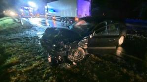 Słupca. Na DK92 samochód ciężarowy uderzył w auto osobowe