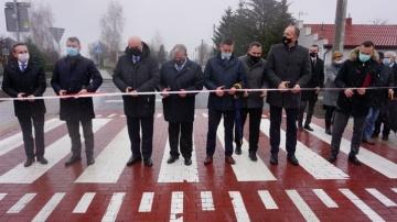 Przebudowa drogi powiatowej na odcinku ulicy Łęczyckiej w Dąbiu