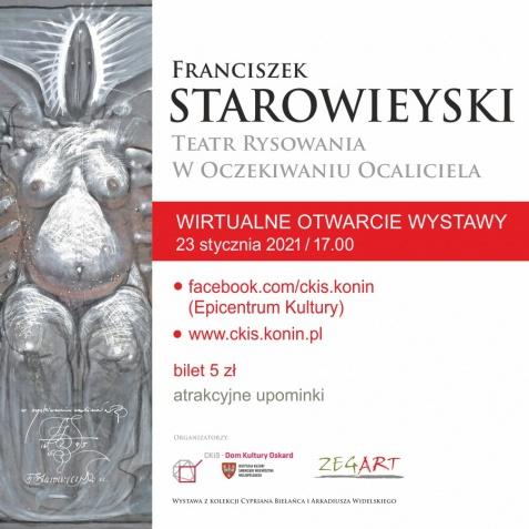 Monumentalne dzieło Starowieyskiego wirtualnie - wystawa i upominki