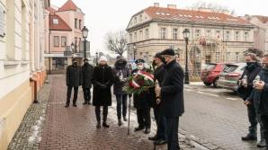 Władze Konina i kombatanci uczcili kolejną rocznicę wyzwolenia