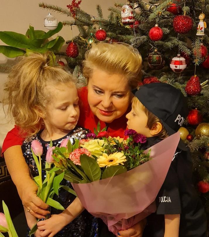 Michalina - wnuczka Ewy Jeżak.