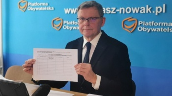 Poseł Tomasz Nowak o inicjatywie PO i elektrowni atomowej