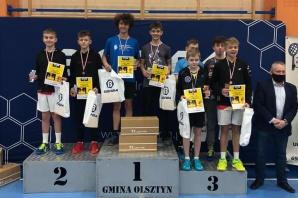 Krajowy Turniej Badmintona. Drugie miejsce Winciaszka w deblu