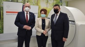 Turek. W szpitalu otwarto pracownie tomografii komputerowej