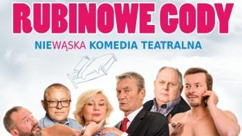 """Spektakl ,,Rubinowe gody"""" 23 kwietnia w KDK"""