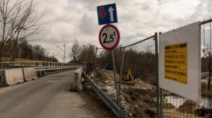 Most Bernardynka zamknięty dla ruchu kołowego do końca lipca