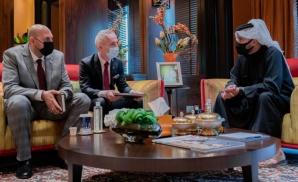 Witold Nowak spotkał się z księciem Khalidem bin Hamadem