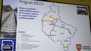 Gminy powiatu tureckiego chcą budowy kolei z Turku do Konina