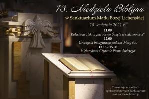 Zaproszenie na Niedzielę Biblijną w licheńskim sanktuarium