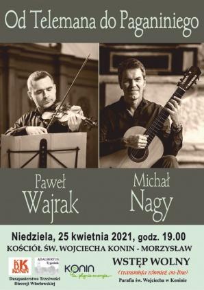 """Konin. Koncert """"Od Telemana do Paganiniego"""" w św. Wojciechu"""
