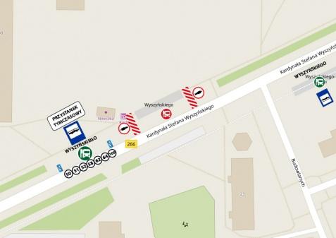 MZK informuje o pracach drogowych w zatokach autobusowych