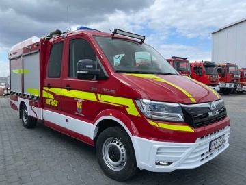 Grodziec. Nowy samochód ratowniczo-gaśniczy dla jednostki OSP