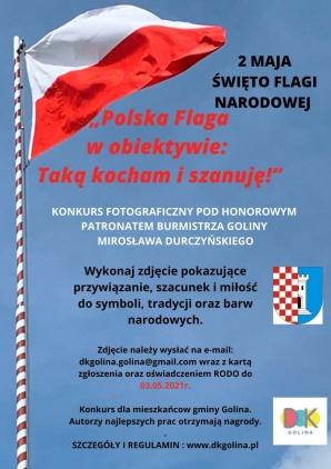 Golina. Polska flaga w obiektywie. Konkurs dla mieszkańców gminy