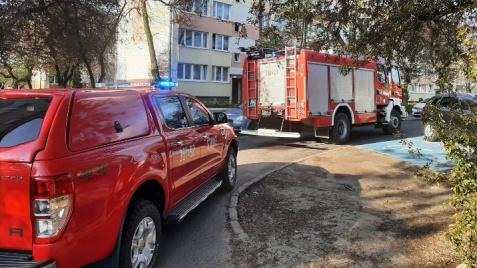 Konin. Na ul. Wyszyńskiego wybuchł gaz. Nikomu nic się nie stało