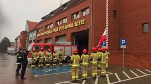 Turek, Słupca. Strażacy uczcili Dzień Flagi Rzeczypospolitej