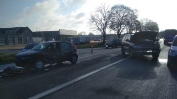 Wypadek na DK 92 w Golinie. Poszkodowana została jedna osoba