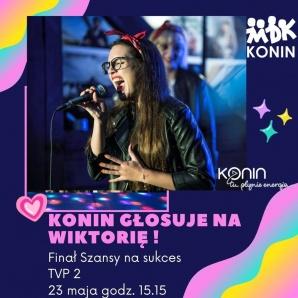 Wiktoria Krakowska w finale Szansy na sukces. Konin trzyma kciuki