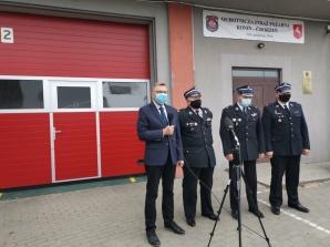 Zarząd OSP Konin Chorzeń nie został poinformowany o konferencji